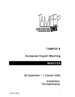 Report-European-Expert Meeting