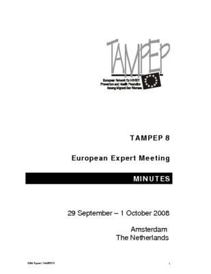 Report-European-Expert Meeting