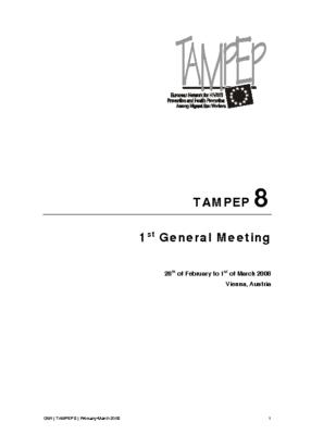 Report_GM1_TAMPEP8