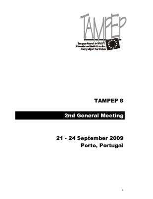 TAMPEP 8 GM2 Porto 2009