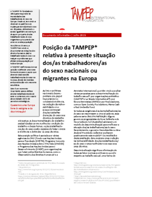 2015: TAMPEP paper 2015_08 PORT