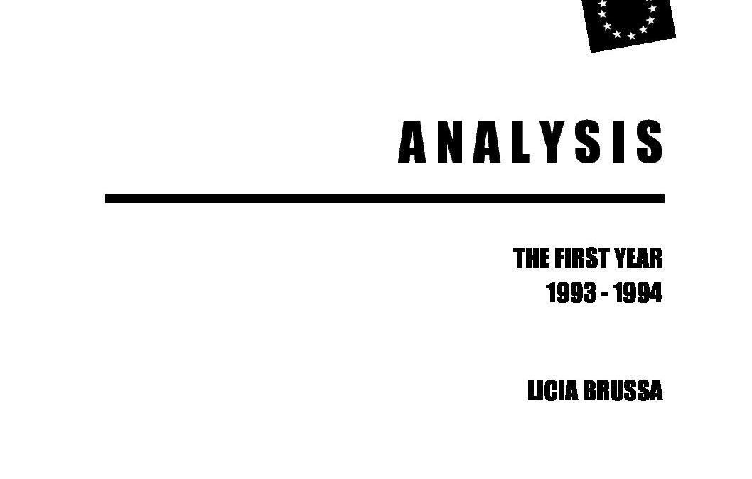 1994: Analysis Sex Work Migration in Europe