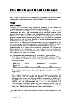 1999: Ein Blick auf Deutschland (DE)