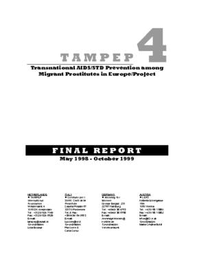 1999: TAMPEP IV Final Report