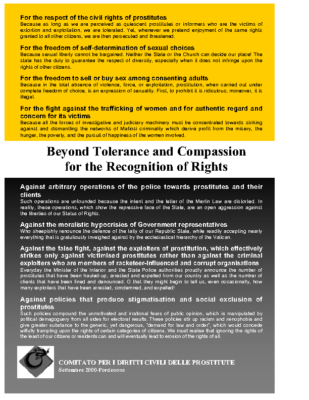 Beyond Tolerance & Compassion for the Recognition of Rights (EN)
