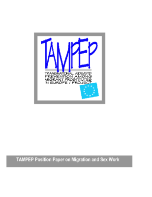 2001: Position paper on Migration & Sex Workers (EN)