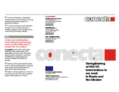 CONECTA Flyer EN