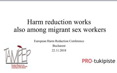Ready to go: Tampep Network and Pro-tukipiste co-working to promote migrant sex …