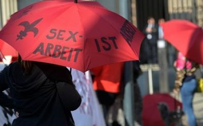 Demonstrators protest against the sex purchase prohibition in Hamburg | TAMPEP